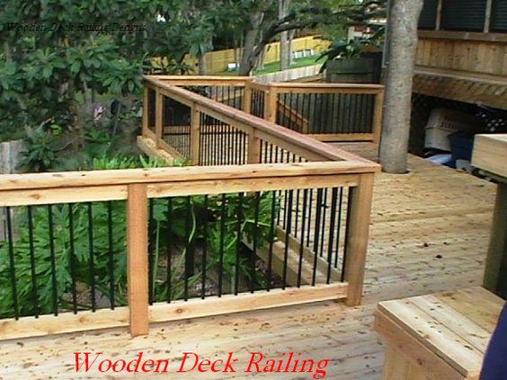 Deck Idea Porch Railing.