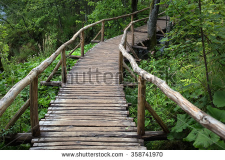 Wood Handrail Stock Images, Royalty.