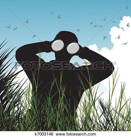 Naturalist Clipart Illustrations. 100 naturalist clip art vector.