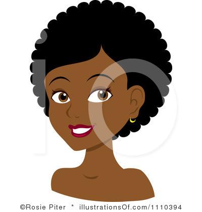 Clip Art Natural Hair Clipart.
