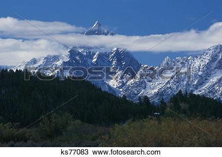Stock Photo of Environmental Issues, Alps, Beauty, Colorado.