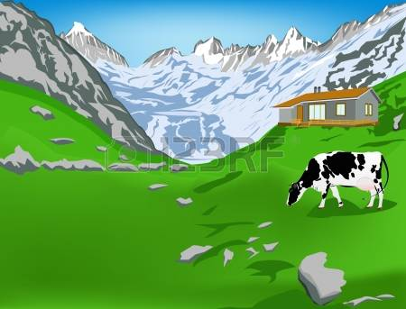 568 Swiss Alps Stock Vector Illustration And Royalty Free Swiss.