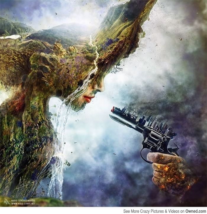 1000+ images about Art nature vs technology on Pinterest.
