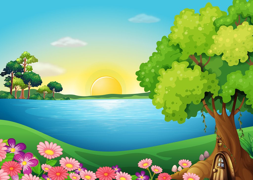 Nature background clipart 10 » Clipart Station.