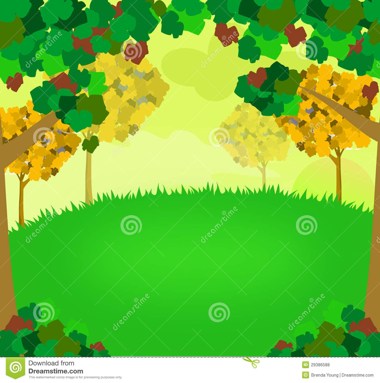 Nature Background Clipart.