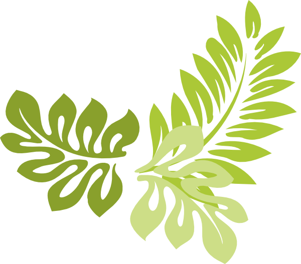 Nature Border Clipart, Leaf Border Free Clipart.