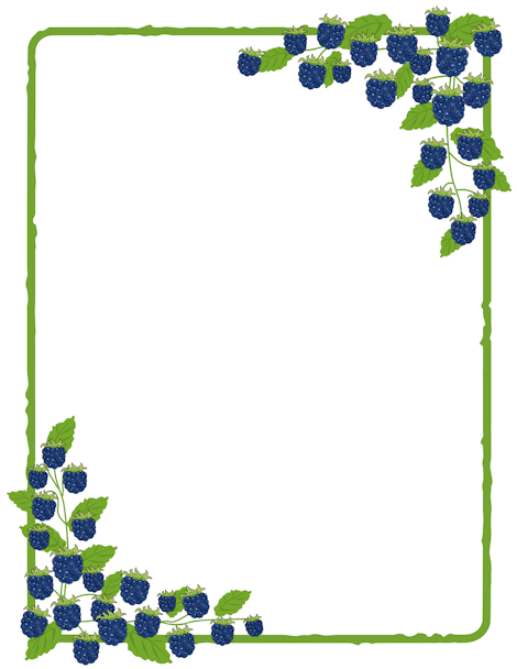 Free Nature Borders: Clip Art, Page Borders, and Vector Graphics.