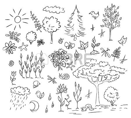 187,872 Sketch Nature Stock Vector Illustration And Royalty Free.