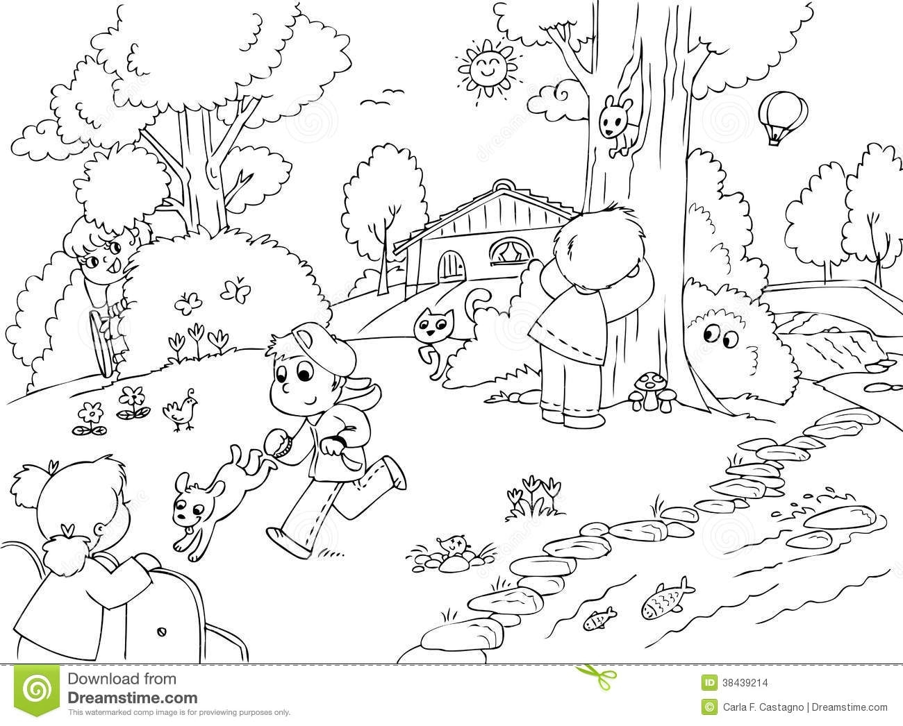 Nature Clipart Black And White Nature Clipart For Kids Black.