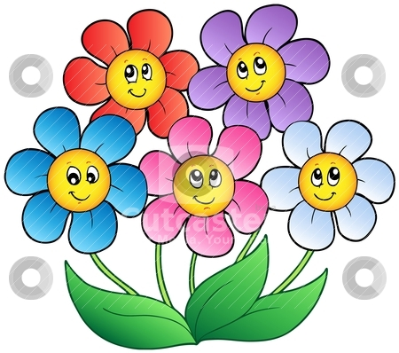 Nature flower plant clipart #1