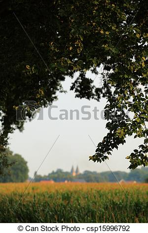 Stock Photographs of Rural Summer Idyll.