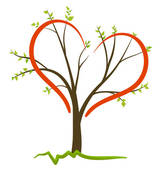 Clip Art of Love Nature Vector Symbol k8388778.