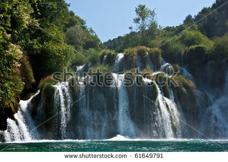 National Park Krka Stock Photos, Royalty.
