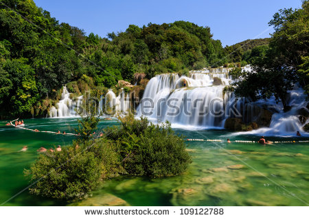 "krka Waterfalls"" Stock Photos, Royalty."