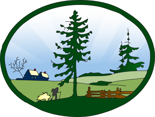 Nature park clipart.