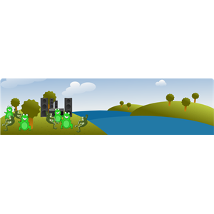 Image Of A Nature Park Clipart.