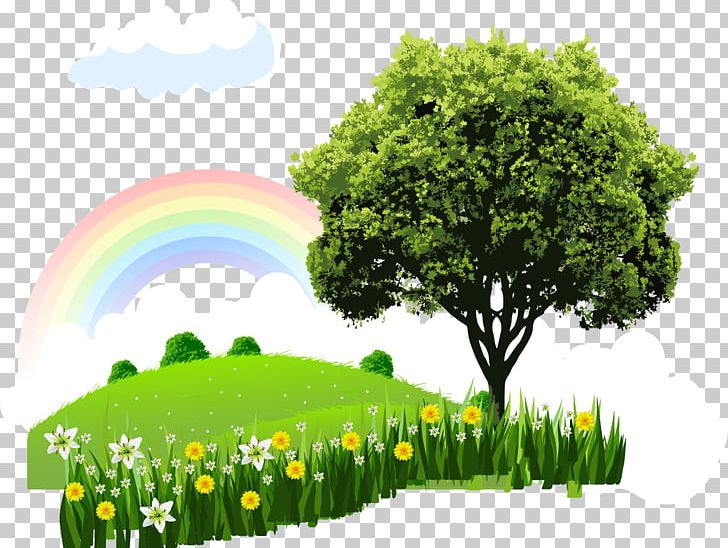 Natural Landscape Cartoon Nature PNG, Clipart, Animation.