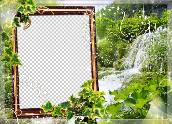 Nature Frame for photo.