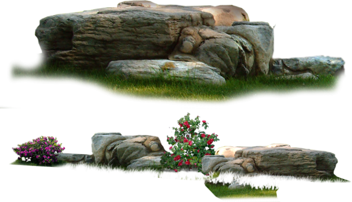 Stone Park Garden Landscape Nature Png Download Free Vector.