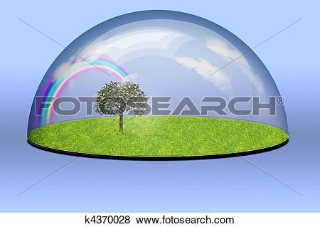 Stock Illustration of Nature Preserve k4370028.