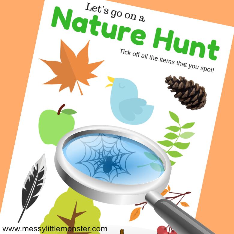 Nature Scavenger hunt.