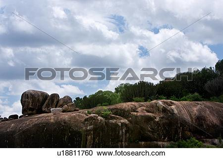Stock Photography of Ngong Rock, Central, National Park, Masai.