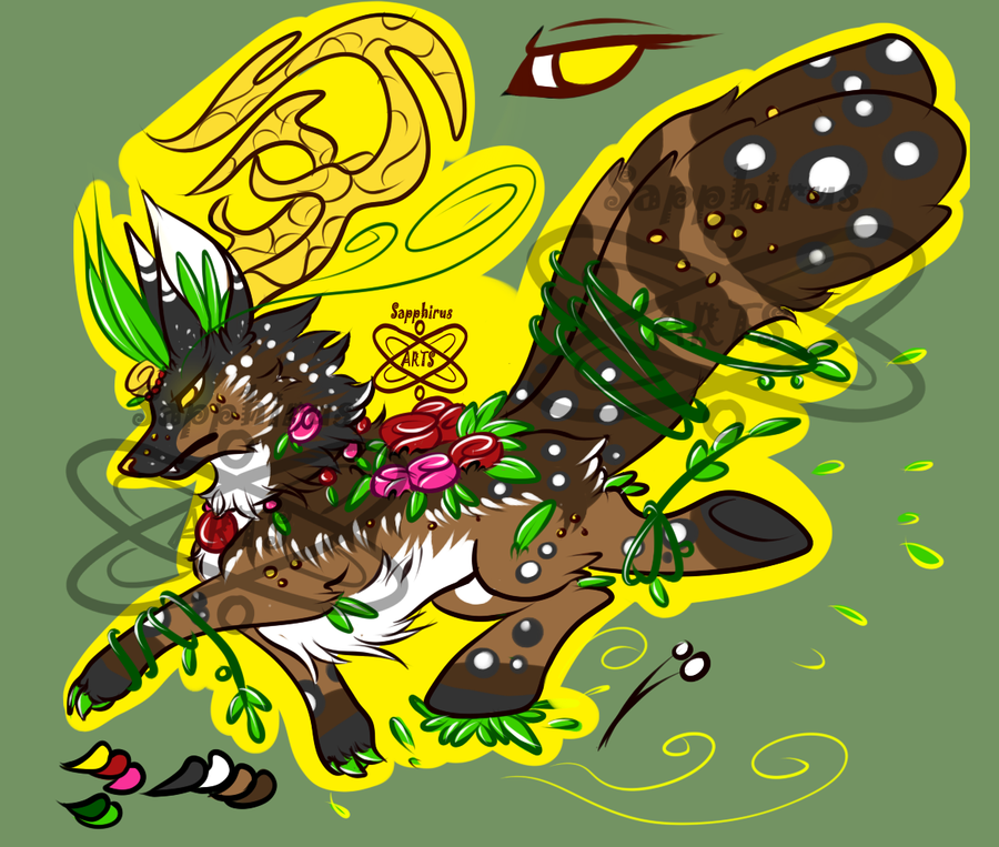 Nature Spirit +Creature 4 Sale+ — Weasyl.