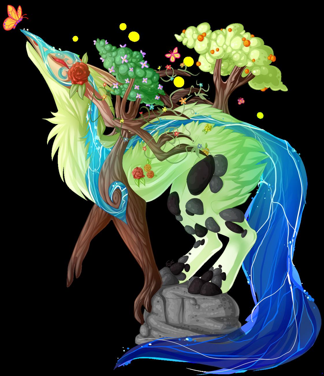 RAFFLE] Nature Spirit — Weasyl.