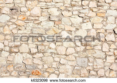 Pictures of mediterranean nature stone wall background k6323098.