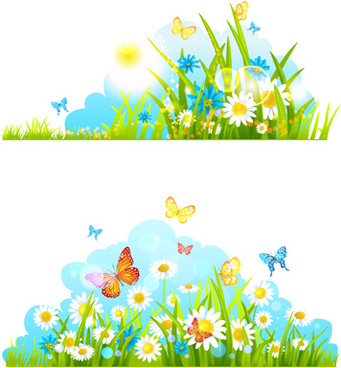 Summer flowers clipart free vector download (14,098 Free vector.