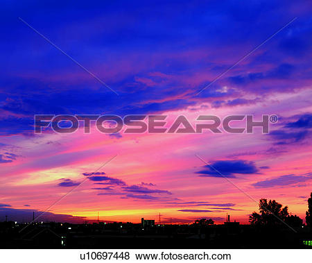 Pictures of nature, sunset, clouds, pink clouds, sunset clouds.