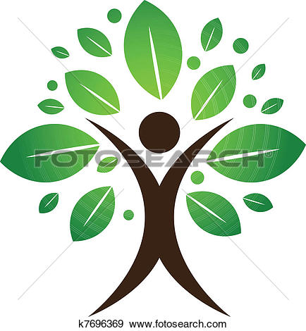 Clipart of Green nature leaf concept k9316961.