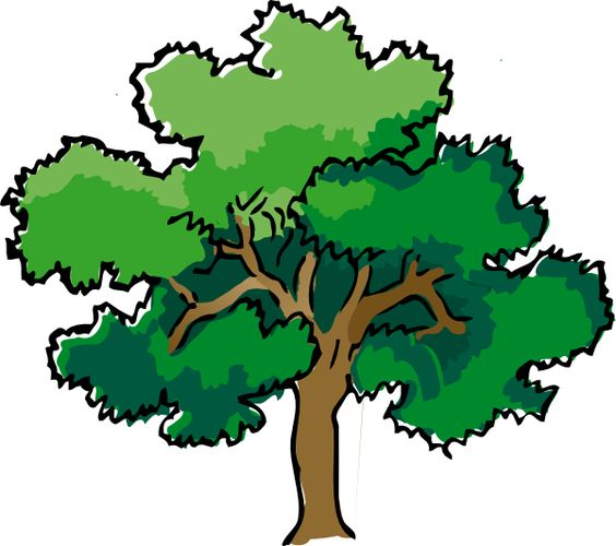 Oak Tree Clip Art.