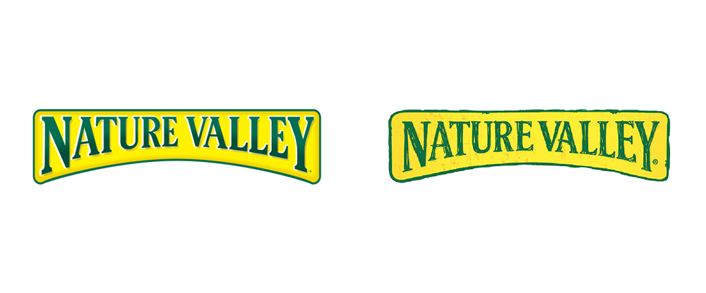 Brand New: New Logo and Packaging for Nature Valley by Brand.