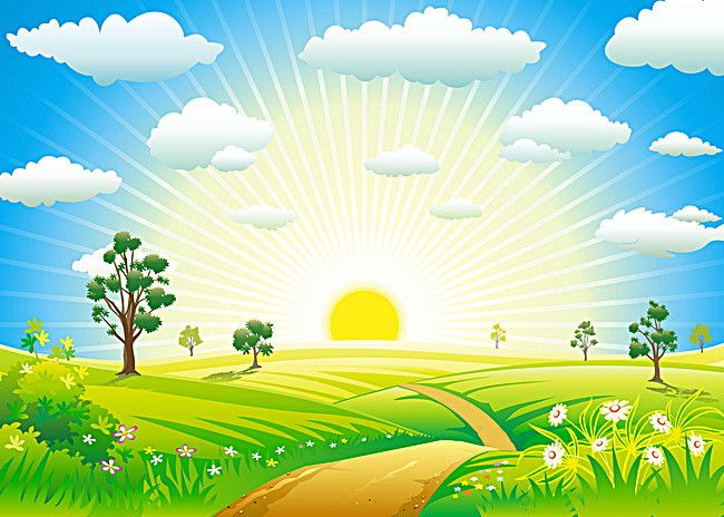 Art Design Summer Sun Background.