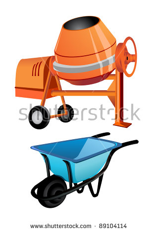 Cement Mixer Stock Photos, Royalty.