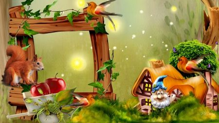 HD Fields Nature Wallpapers Gnome Village.