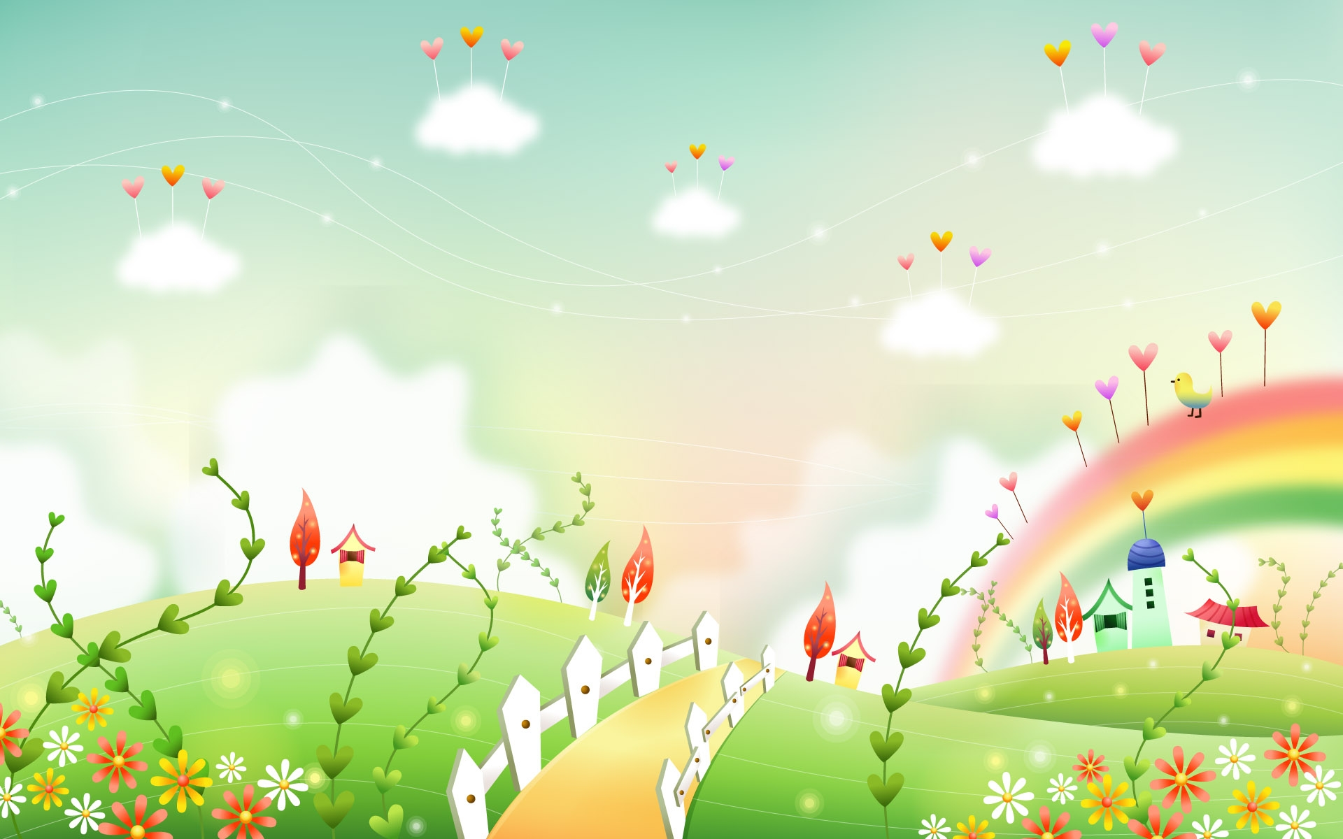 Nature wallpaper clipart.