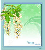 Stock Illustration of template, nature, peony, templet, plant.