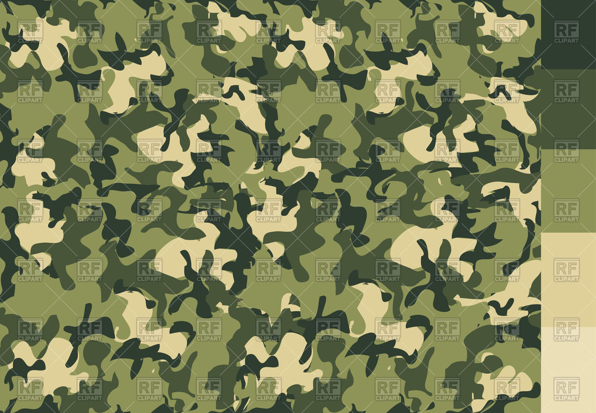 Camouflage pattern Vector Image #87577.