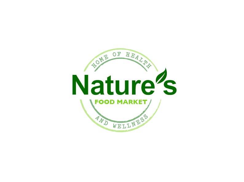 Personable, Bold, Marketing Logo Design for Nature\'s Food.