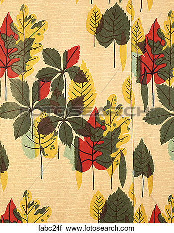 Stock Photography of Style: Modern Nature Yellow, Red & Green.
