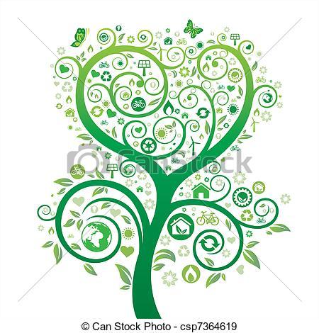 EPS Vector van milieu, thema, Ontwerp, natuur.
