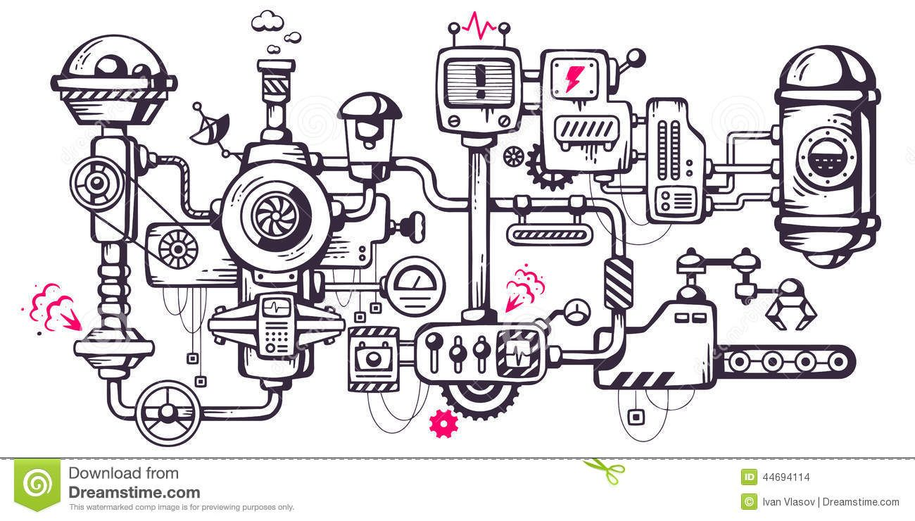 Image result for complicated machine.