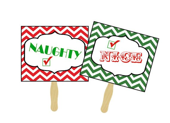 Naughty or nice clipart 3 » Clipart Portal.