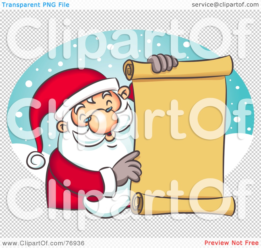 Naughty Or Nice Clipart.