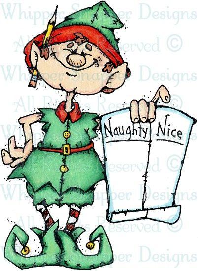 Naughty & Nice Elf.
