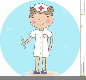 Nurse Clipart Postcards.