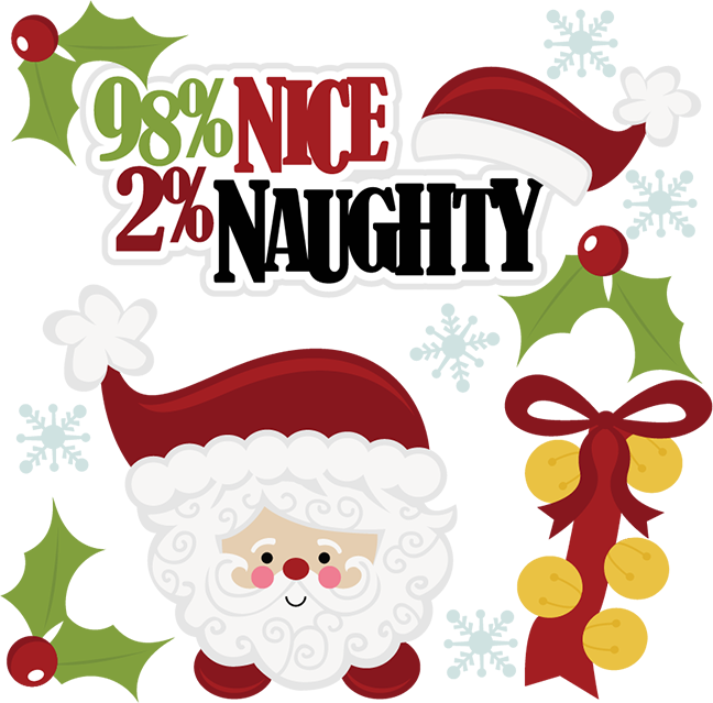 Naughty or nice clipart clipart images gallery for free.