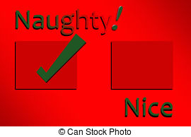 Naughty nice Clipart and Stock Illustrations. 194 Naughty.